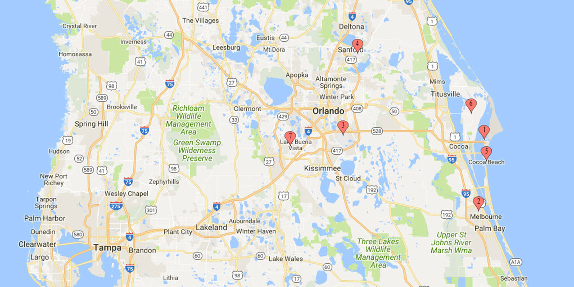 Map Of Florida Melbourne.Airport Cruise Terminal Transportation Shuttle Service 321 453 9660